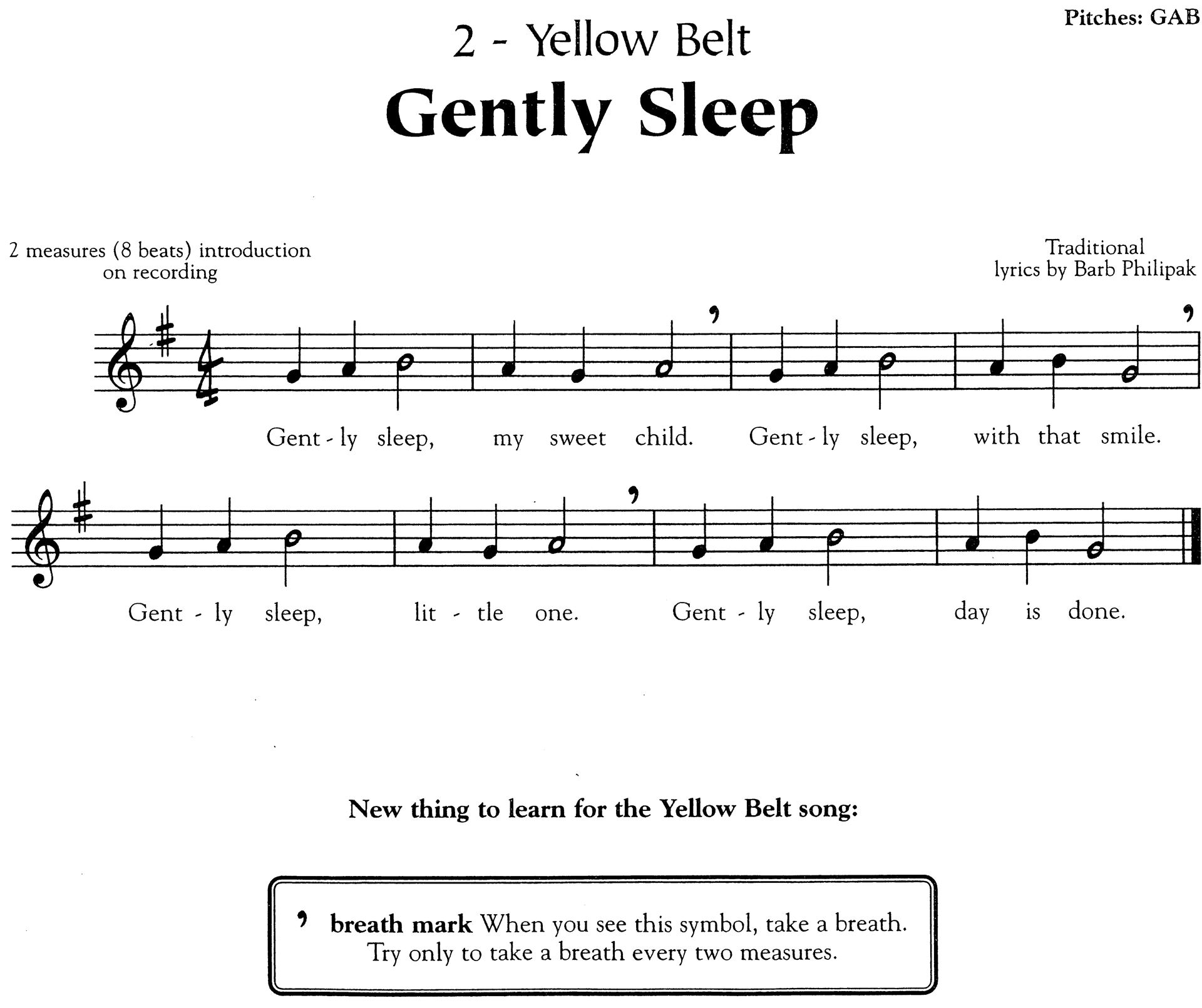 recipe: gently sleep recorder karate [2]